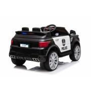 Masinuta electrica Police Officer Black