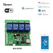 Sonoff 4CH DC5V 4 Kanálový WiFI Spínač