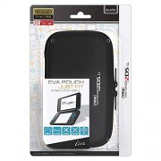 i-Lex new2DS XL Officially Licensed by Nintendo Slim Hard Pouch -Black-