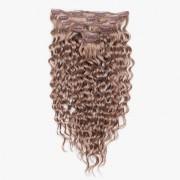 Rapunzel® Extensions Naturali Kit Clip-on Original 7 pezzi Ricci 7.3 Cendre Ash 40 cm