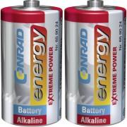 Set 2 baterii alcaline C, 1,5 V, Conrad energy Extreme Power