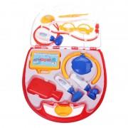 Set de joaca Doctor Eddy Toys, plastic, 9 piese, ochelari inclusi, 3 ani+