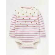 Baby Weidenröschen, Goldtupfen Bunter Breton-Body Baby Baby Boden, 62, Pink