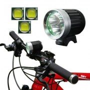 4 Mode Bicycle Lamp / Head Lamp with 3x CREE XM-L T6 LED Light Luminous Flux: 1200lm