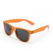 Geen 10x stuks Oranje retro model zonnebril voor volwassenen