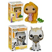Pop! Disney: Tangled - Maximus Rapunzel & Pascal Pop! Vinyl Figure Set