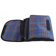 Voděodolná pikniková deka skladatelná taška rohož