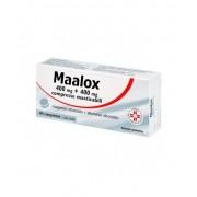Sanofi Spa Maalox 400mg + 400mg Antiacido 40 Compresse Masticabili