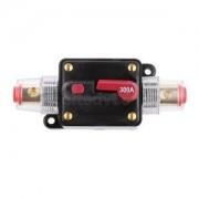 Alcoa Prime 300 Amp In-Line Auto Manual Reset Circuit Breaker Car Stereo Audio Fuse 12V