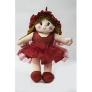 Baby Doll Girl Dolly Net Red Color by Lovely Toys