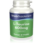 Simply Supplements L-Taurine 600mg - 120 Gélules