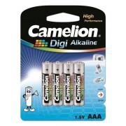 Baterie Camelion Digi Alkaline LR03 (AAA) 1.5V, 4buc/blister