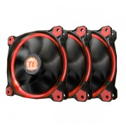Thermaltake FAN, RING 12 LED RED 3 PACK | CL-F055-PL12RE-A