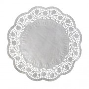 Dekoračné krajky okrúhle Ø 40 cm [100 ks]