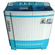 Haier 9Kg HTW90-1159 Semi Automatic Washing Machine (TOUGHNED GLASS TOP)