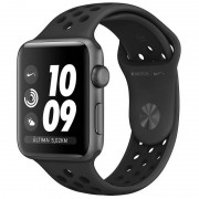 Apple Watch Nike+ Series 3 GPS 38mm Alumínio Space Grey com Correia Desportiva Nike Antracita/Preto