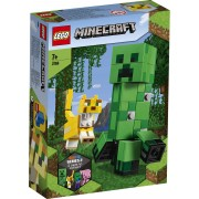 Lego Minecraft (21156). Maxi-figure Creeper e Gattopardo