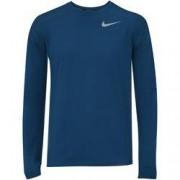 Nike Camiseta Manga Longa Nike Dry Element Crew - Masculina - AZUL ESCURO