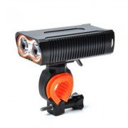 ZHISHUNJIA Y6 USB Charged High Bright Bicycle Lamp with Battery Waterproof Lamp