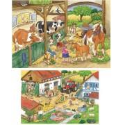 Пазл - «День на ферме» 2х24шт