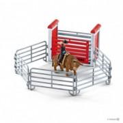 SCHLEICH igračka Arena za bika sa kaubojem 41419