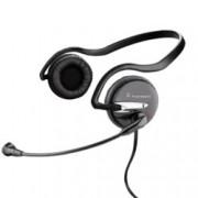 Слушалки Plantronics Audio 345, микрофон, черни