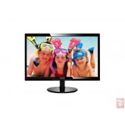 "24"" Philips 246V5LHAB, LED, 16:9, 1920x1080, 5ms, 1000:1, 250cd/m2, VGA/HDMI, speakers, black"