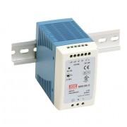 DIN sínre szerelhető LED tápegység Mean Well MDR-100-12 90W 12V