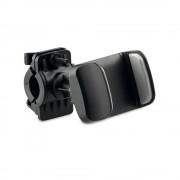 Suport telefon pentru bicicleta, Everestus, STT050, plastic, negru, laveta inclusa