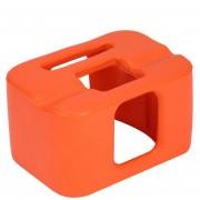 ER Accesorios De La Cámara Resistente Bastidor De Boya Para Gopro Hero 4/5 Sesiones 7.5X5.5X4cm -Naranja