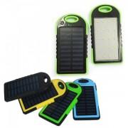 Baterie Externa Power Bank Solar 4000mAh cu Lanterna 20LED si USB