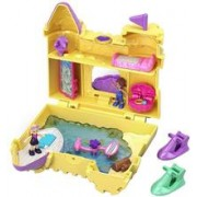 Jucarie Polly Pocket Pocket World Deep Sea Sandcastle Compact Play Set