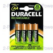 Duracell Uppladdningsbara AA 4 Pack