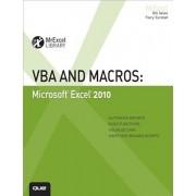 VBA and Macros: Microsoft Excel 2010, Paperback