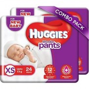 Huggies Wonder Pants Diaper - XS (48 Pieces)