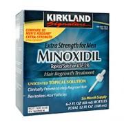 MINOXIDIL 5% FOR MEN 6 x 60ml Bottles (6 Month Supply)
