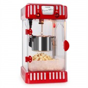 Klarstein VOLCANO червена, машина за пуканки 300W, бъркалка, неръждаема (SHU-POPCORN-VOLCANO)