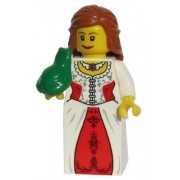LEGO Lion Princess (With Frog) - LEGO Kingdoms Castle Minifigure