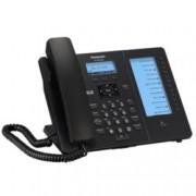 "VoIP телефон Panasonic KX-HDV230, LCD 2.3""(5.84) дисплей, 6 линии, черен"