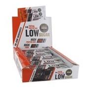 Total low sugar barra de proteína sabor duplo chocolate 10x60g - Gold Nutrition