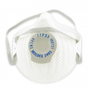 Stofmasker met ventiel (Moldex 2405) 3 stuks