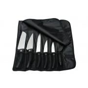 Комплект от 7 части професионални ножове + масат в калъф Pirge Deluxe (71328)