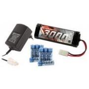 Starter set Acumulator+Incarcator pentru automodele electrice, Robitronic