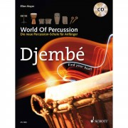 Schott Music Djembe, World Of Percussion Ellen Mayer, mit CD
