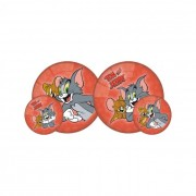 Tom és Jerry gumilabda, 23 cm III.