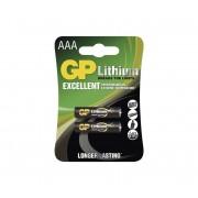 2 buc Baterii cu litiu AAA GP LITHIUM 1,5V