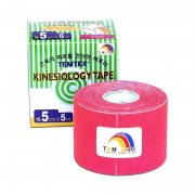 TEMTEX Kinesio tape 5 cm x 5 m tejpovací páska růžová