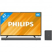 Philips 43PUS6504 + Soundbar