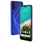 "Smartphone, Xiaomi Mi A3, DualSIM, 6.08"", Arm Octa (2.0G), 4GB RAM, 64GB Storage, Android, Blue (MZB7939EU)"