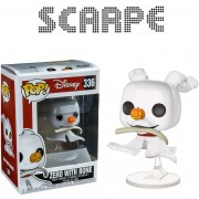 Funko Pop Zero With Bone Nightmare Before Christmas Navidad